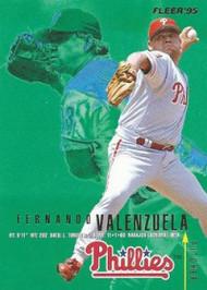 1995 Fleer #406 Fernando Valenzuela VG Philadelphia Phillies