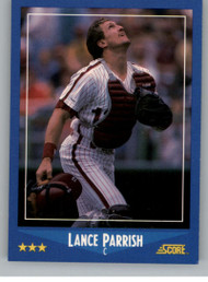 1988 Score #131 Lance Parrish VG Philadelphia Phillies