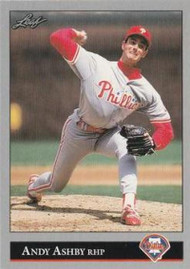 1992 Leaf #405 Andy Ashby VG Philadelphia Phillies