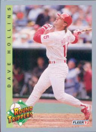 1993 Fleer #353 Dave Hollins VG Philadelphia Phillies