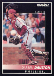 1992 Pinnacle #241 Darren Daulton VG Philadelphia Phillies
