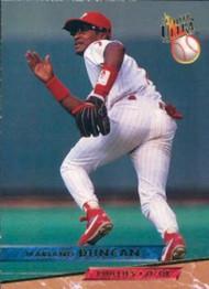 1992 Studio #74 Mariano Duncan VG Philadelphia Phillies