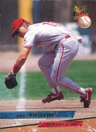 1993 Ultra #88 Dave Hollins VG Philadelphia Phillies