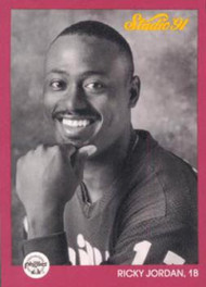 1991 Studio #215 Ricky Jordan NM-MT  Philadelphia Phillies