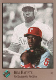 1992 Studio #71 Kim Batiste VG Philadelphia Phillies