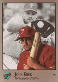 1992 Studio #76 John Kruk VG Philadelphia Phillies