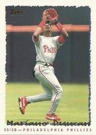 1995 Topps #103 Mariano Duncan VG  Philadelphia Phillies