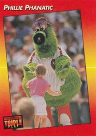 1992 Triple Play #133 Phillie Phanatic VG Philadelphia Phillies