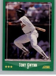 1988 Score #385 Tony Gwynn VG San Diego Padres