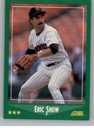1988 Score #338 Eric Show VG San Diego Padres