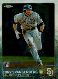 2015 Topps Chrome #132 Cory Spangenberg VG RC Rookie San Diego Padres