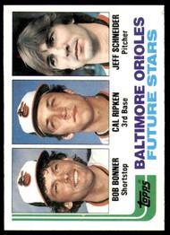 1982 Topps #21 Cal Ripken Jr. Orioles Rookies VG RC Rookie Baltimore Orioles