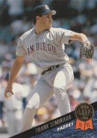 1993 Leaf #64 Frank Seminara VG San Diego Padres