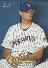 1998 Fleer Update #U74 Matt Clement VG San Diego Padres