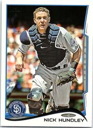 2014 Topps #37 Nick Hundley NM-MT  San Diego Padres