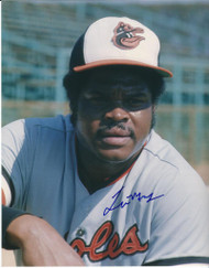 Lee May Autographed Orioles 8 x 10 Photo 6