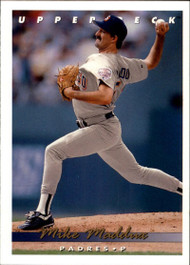 1993 Upper Deck #58 Mike Maddux VG San Diego Padres