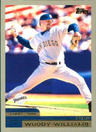 2000 Topps #82 Woody Williams VG San Diego Padres
