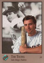 1992 Studio #110 Tim Teufel VG San Diego Padres