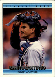 1992 Donruss #40 Benito Santiago VG San Diego Padres