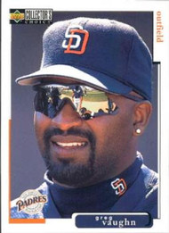 1998 Collector's Choice #483 Greg Vaughn VG  San Diego Padres