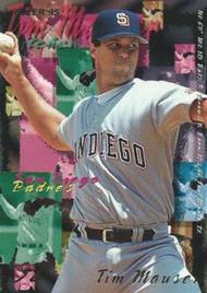 1995 Fleer #565 Tim Mauser VG San Diego Padres