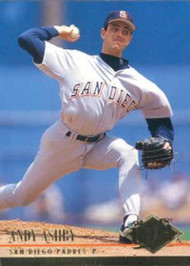 1994 Ultra #275 Andy Ashby VG San Diego Padres