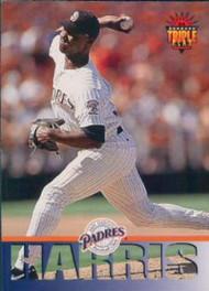 1994 Triple Play #168 Gene Harris VG San Diego Padres
