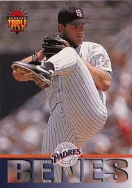 1994 Triple Play #163 Andy Benes VG San Diego Padres
