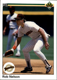 1990 Upper Deck #51 Rob Nelson VG San Diego Padres