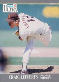 1991 Ultra #307 Craig Lefferts VG San Diego Padres