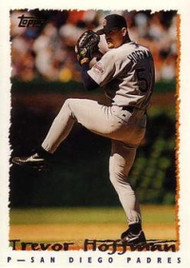 1995 Topps #7 Trevor Hoffman VG  San Diego Padres
