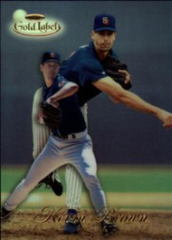 1998 Topps Gold Label Class 1 #1 Kevin Brown NM-MT San Diego Padres