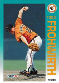 1992 Fleer Update #1 Todd Frohwirth NM-MT  Baltimore Orioles