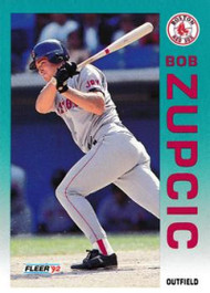 1992 Fleer Update #6 Bob Zupcic NM-MT  RC Rookie Boston Red Sox
