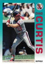 1992 Fleer Update #8 Chad Curtis NM-MT  RC Rookie California Angels