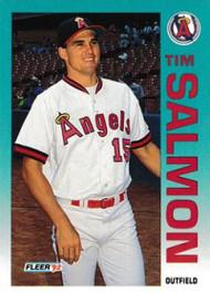1992 Fleer Update #10 Tim Salmon NM-MT  California Angels