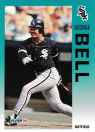 1992 Fleer Update #12 George Bell NM-MT  Chicago White Sox