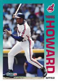 1992 Fleer Update #15 Thomas Howard NM-MT  Cleveland Indians