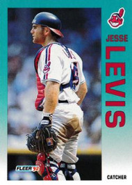 1992 Fleer Update #16 Jesse Levis NM-MT  RC Rookie Cleveland Indians