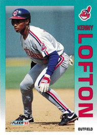 1992 Fleer Update #17 Kenny Lofton NM-MT  Cleveland Indians