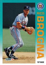 1992 Fleer Update #19 Rico Brogna NM-MT  Detroit Tigers