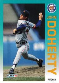 1992 Fleer Update #20 John Doherty NM-MT  RC Rookie Detroit Tigers