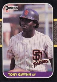 1987 Donruss #64 Tony Gwynn VG San Diego Padres