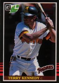 1985 Donruss/Leaf #33 Terry Kennedy VG San Diego Padres