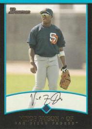 2001 Bowman #328 Vince Faison VG San Diego Padres