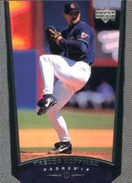 1999 Upper Deck #192 Trevor Hoffman VG San Diego Padres
