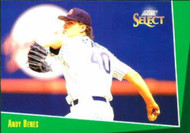 1993 Select #117 Andy Benes VG San Diego Padres