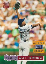1994 Stadium Club #75 Ricky Gutierrez VG San Diego Padres