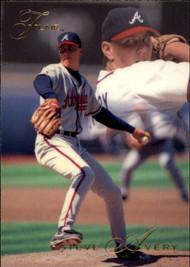 1993 Flair #1 Steve Avery NM-MT Atlanta Braves